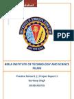 Project Report 1 BITS Pilani