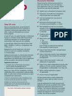 Step Up Loan Checklist 021208