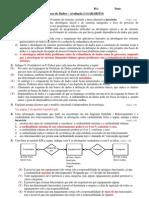 Gabarito P1 BD