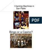 Class II Gaming Machines In San Pablo