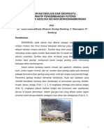 Konservasi Geologi Dan Geowisata