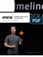 Facebook Timeline Launch for Brand Pages