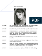 2012 Arlyne´s ART Resume English Arte Arlyne Heilbron Ortiz