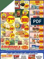 Friedman's Freshmarkets - Weekly Specials - June 21 - 27, 2012