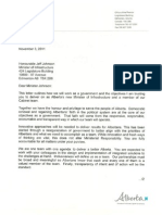 Infrastructure Mandate Letter