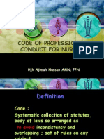 Code of Professional Conduct for Nurses(New)