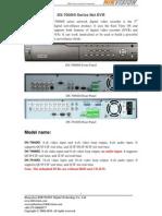Hikvision DVR DS 7000HI