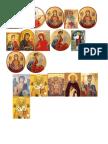 ICONITE arbore Hristos impartasit copiilor