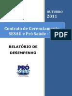 Pró-Saúde - SESAU-TO - PRESTAÇÃO DE CONTAS - Outubro - 2011