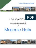 Halls Code of Practice