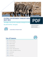Mathema May 2012 Global Investment Insight Report