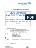 Makaton Leaflet 2012