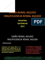 Insuficiencia renal en pediatria