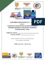 FORMATO DE PRODUCTOS PARTICIPANTE MÓDULO 3 RIEB 3° Y 4°  2012 unitep053  ATP FJIR LXB