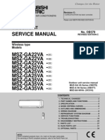 Mitsubishi Electric - Service Manual 0B378