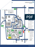 Addenbrooke's Hospital Site Plan