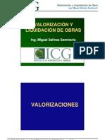 Valorizaciones ICG-2008