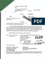 BANKERS STANDARD INSURANCE COMPANY v. 120 EAST 79TH STREET, INC Complaint