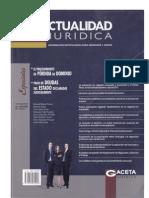 Responsabilidad indirecta del deudor por actos de terceros. Analisis del articulo 1325 del Código Civil