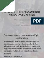 Desarrollo Del Pensamiento Simbolico en El Nino