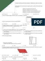 Matematicas 3er Grado - Preenlace 2009-2010