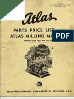 Atlas Milling Machine