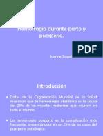 20090711 Hemorragia Parto y Puerperio