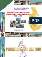 (2) ISO 15189 DIRESA PLANIFICACIÓN DEL SISTEMA