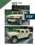 Hummer H1(Kit, Montagem e Jipe Pronto)