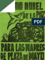 1979 - Premio Nobel de La Paz Para Las Madres