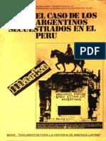 1980 - FELAP - El Caso de Los Argentinos Secuestrados en Peru