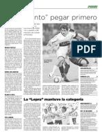 26 de junio de 2011 - Página 12 - Podio - La Mañana de Córdoba - Ascenso de Belgrano