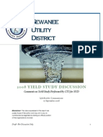 Sewanee Utility District Raw Water Yield Comparisons - September 2008