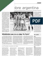 26 de junio de 2011 - Página 14 - Podio - La Mañana de Córdoba - Ascenso de Belgrano