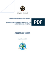 Farmacologia Vegetal 2011