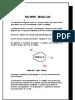 maquinas termica