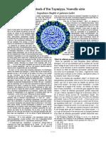 Textes spirituels d'Ibn Taymiyya. Nouvelle série
