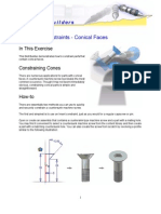 Assembly Constraints - Conical Faces