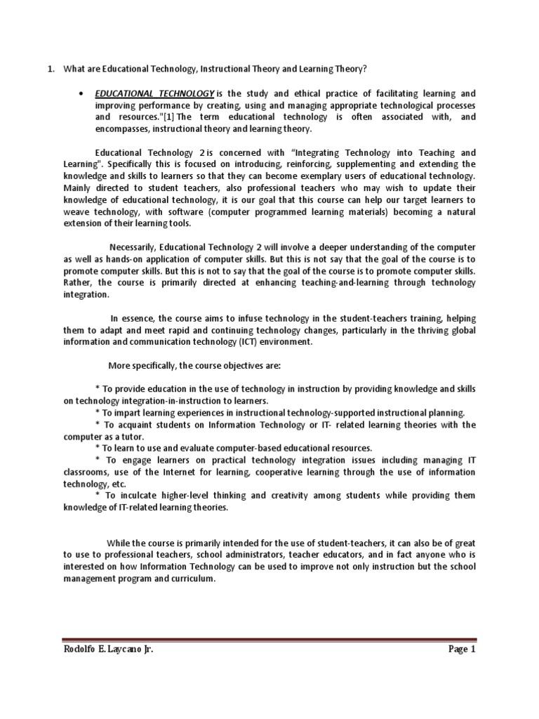 Educational Technology 2 Constructivism Philosophy Of Education