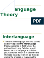 Inter-language Theory蔡