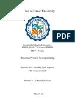business process reegineering