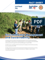 PRMF Factsheet 10 Environmental Management 2012 April