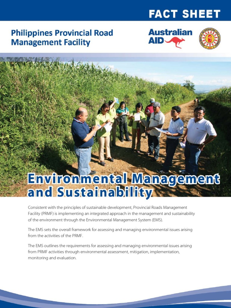 PRMF Factsheet 10 Environmental Management 2012 April