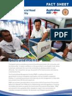 PRMF Factsheet 3 Procurement 2012 February