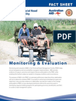 PRMF Factsheet 6 Monitoring and Evaluation 2012 April