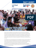PRMF Factsheet 9 Gender Equality 2012 February
