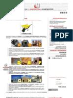 CATEGORIAS Y TIPOS de CONSTRUCCIONES _ Asesorias de Arquitectura y Construccion _ Regularizaciones, Ampliaciones, Tasaciones