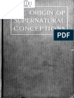 The Origin of Supernatural Conceptions and Development of Religions From Prehistoric Times (1906) Greenough, John James, 1812-1908