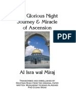 Al Isra Wal Miraaj English