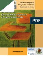 Guia Evaluación Diagnóstica 2012-2013